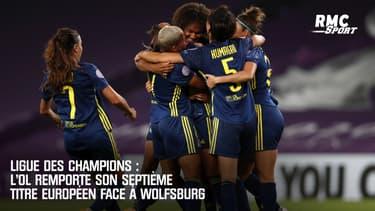 Ligue des champions : L'OL remporte son 7e titre européen face à Wolfsburg