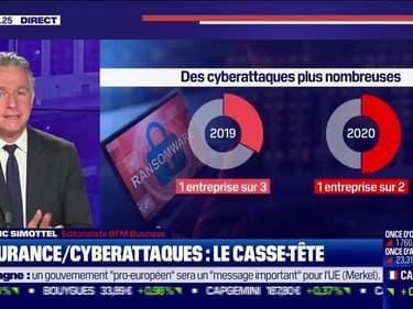 Frédéric Simottel (BFM Business) : Le casse-tête de l'assurance contre les cyberattaques - 15/10