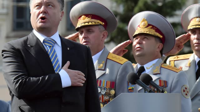 Petro Porochenko a annoncé lundi qu'il allait dissoudre le Parlement ukrainien.