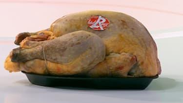 En Auvergne, un poulet fermier Label rouge est élevé pendant 81 jours minimum.