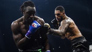Joel Tambwe Djeko face à Tony Yoka, à Nantes le 5 mars 2021