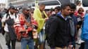 Migrants arrivés le 5 septembre à Vienne.