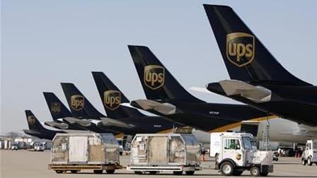 """UPS dit faire les ajustements nécessaires face à des """"conditions difficiles""""."""
