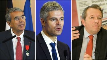 Pour le second tour en Auvergne-Rhône-Alpes, les candidats en lice sont Jean-Jack Queyranne, Laurent Wauquiez et Christophe Boudot.