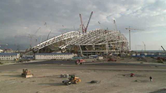 La ville de Sotchi en Russie se prépare aux Jeux olympiques de 2014.