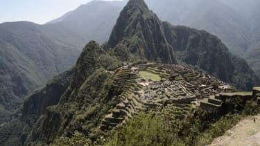 Vue d'ensemble du Machu Picchu - Image d'illustration
