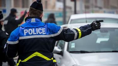 Un contrôle de Police (Illustration)