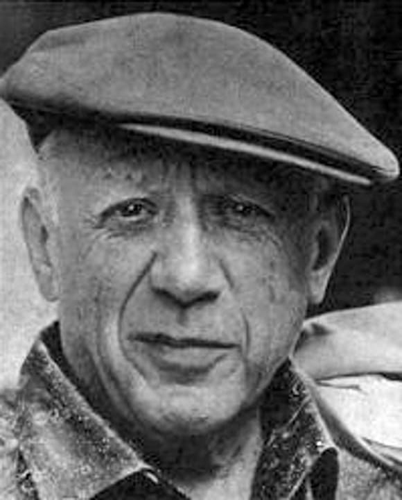 Pablo Picasso en 1962