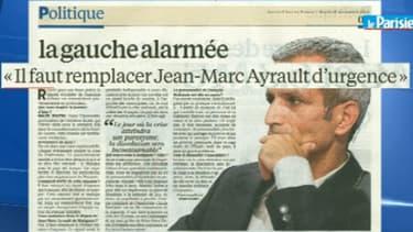 Le député PS Malek Boutih, dans les colonnes du Parisien mardi.