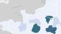 D'où viennent les parlementaires qui ont parrainé les candidats à la primaire à droite? La réponse sur notre carte.