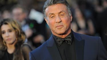 Sylvester Stallone, à la cérémonie des Oscars, le 28 février 2016