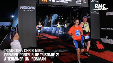 Triathlon : Chris Nikic, premier porteur de Trisomie 21 à terminer un Ironman