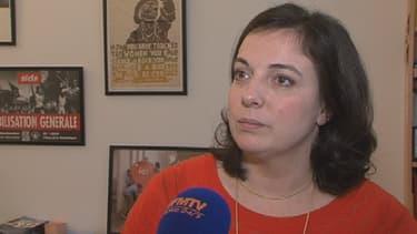 """Emmanuelle Cosse """"perçoit très mal"""" la décision du candidat socialiste à Grenoble."""