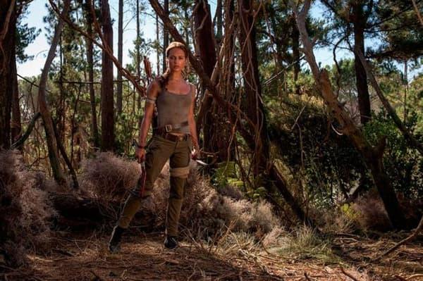 """Alicia Vikander incarne la célèbre héroïne de jeu vidéo dans le reboot de """"Tomb Raider"""""""