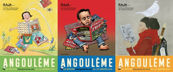Les affiches du Festival d'Angoulême