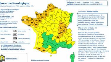 L'alerte orange a été étendue à 23 départements.