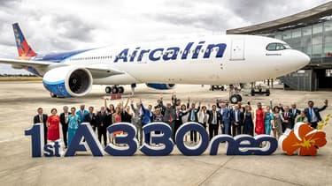 La compagnie Aircalin a réceptionné mardi à l'aéroport international de Nouvelle-Calédonie son nouvel A 330 neo