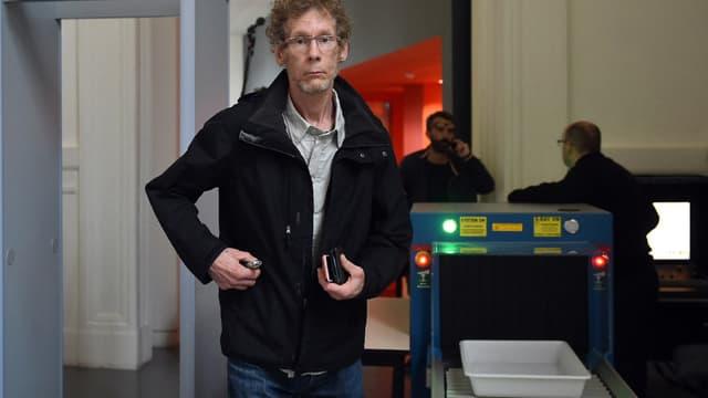 Gilles Bertin arrive à son procès à Toulouse, le 6 juin 2018. - REMY GABALDA / AFP