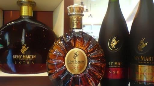 Les ventes de Cognac ont particulièrement baissé