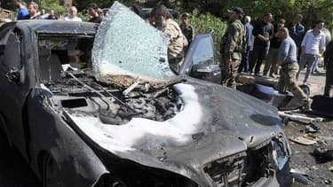 Le Premier ministre syrien Waël al Halki a survécu à un attentat qui a pris pour cible lundi le convoi dans lequel il circulait dans le centre de Damas. /Photo prise le 29 avril 2013/ REUTERS/SANA