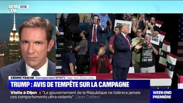 """Donald Trump reporte un meeting de campagne dans le New Hampshire """"à cause d'une tempête"""""""