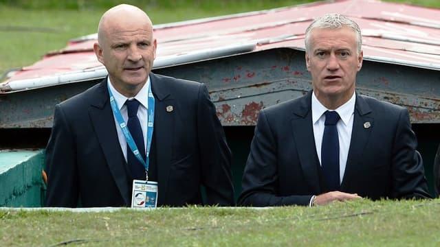 Guy Stéphan et Didier Deschamps