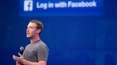 Le fondateur de Facebook, le 25 mars 2015.