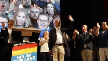Andreas Kalbitz candidat du parti d'extrême droite AfD