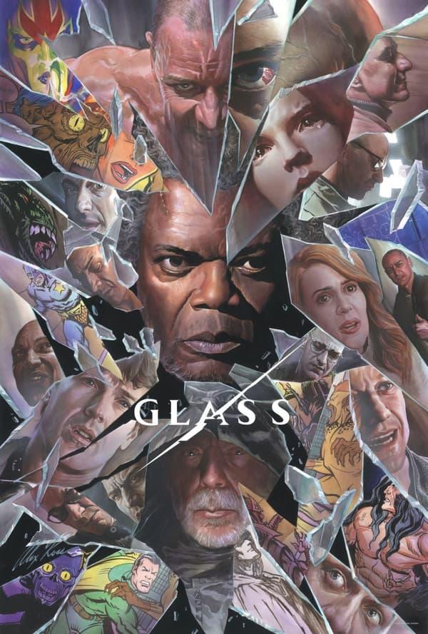 Affiche de Glass par Alex Ross