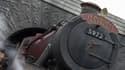 Le Poudlard Express, dans le parc Harry Potter à Hollywood