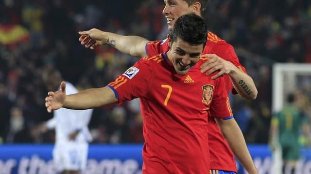 A 35 ans, David Villa est de retour avec la Roja