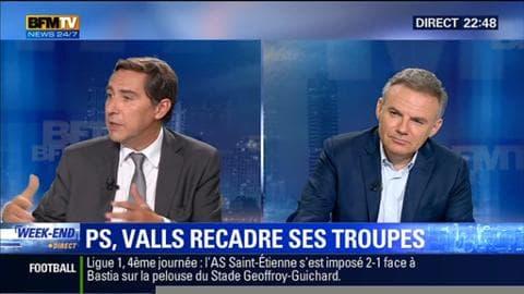 PS: Manuel Valls resserre les rangs de son parti