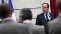 La France entre dans la dernière phase du retrait de ses troupes d'Afghanistan et prévoit qu'il ne restera plus que 500 soldats mi-2013 afin de préparer le départ final, a dit vendredi président François Hollande lors d'un discours à l'Elysée devant des s