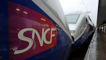 Deux rames de TGV (image d'illustration).
