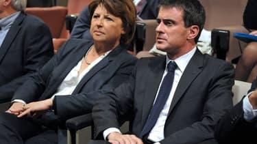 Martine Aubry, souvent critique envers Manuel Valls, n'a pu empêché la défaite des socialistes dans le Nord.