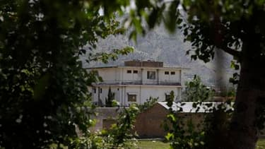 Le complexe dans lequel Oussama ben Laden a été retrouvé et tué par un commando américain, à Abbottabad. Le président pakistanais Asif Ali Zardari s'efforce de dissiper les soupçons qui pèsent sur l'attitude de son gouvernement à l'égard d'Oussama ben Lad