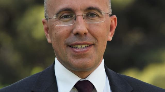 Eric Ciotti, député des Alpes-Maritimes et Secrétaire national de l'UMP chargé de la Sécurité