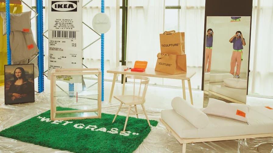 Émeutes chez Ikea pour la collection capsule de Virgil Abloh