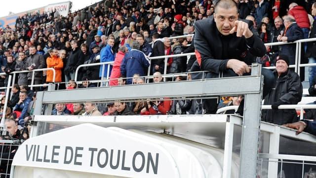 Mourad Boudjellal perché sur son toit