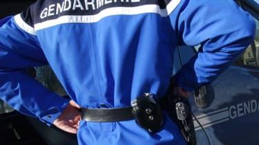 Un gendarme en service - Image d'illustration