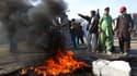 """Manifestations anti-américaines dans la province afghane de Djalalabad contre la """"profanation"""" d'exemplaires du Coran sur une base de l'armée américaine. Quatre personnes ont été tuées par balles samedi par les forces de sécurité afghanes au cinquième jou"""