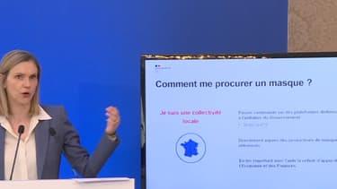 Agnès Pannier Runacher a concédé qu'il y avait 10% des fabricants français qui se retrouvent avec des stocks sur les bras.