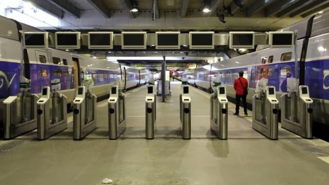 Ces portiques doivent permettre à la SNCF de lutter contre la fraude