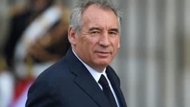 Le président du Modem François Bayrou, le 30 septembre 2019 à Paris