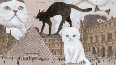 Couverture des Chats du Louvre