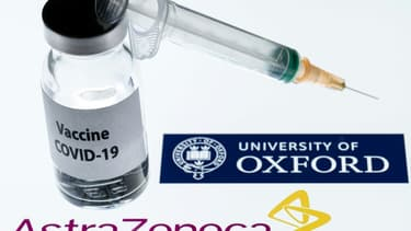 Une dose du vaccin développé par AstraZeneca et l'Université de Oxford, le 23 novembre 2020
