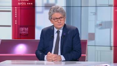 """Le commissaire européen au Marché intérieur, Thierry Breton, invité de """"BFM Politique"""" dimanche 18 avril 2021"""