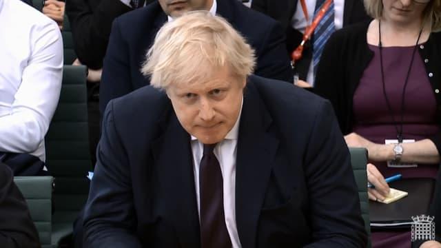 Le ministre britannique des Affaires étrangères Boris Johnson, le 21 mars 2018 à Londres.
