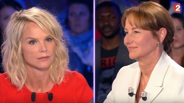 """Ségolène Royal sur le plateau de l'émission """"On n'est pas couché"""", le 3 juin 2017"""