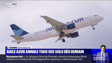 Aigle Azur suspend tous ses vols à partir de ce vendredi soir